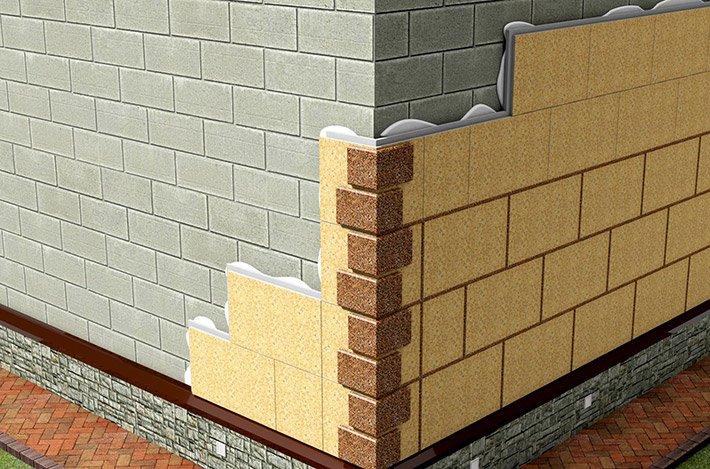 Система утепления фасадов