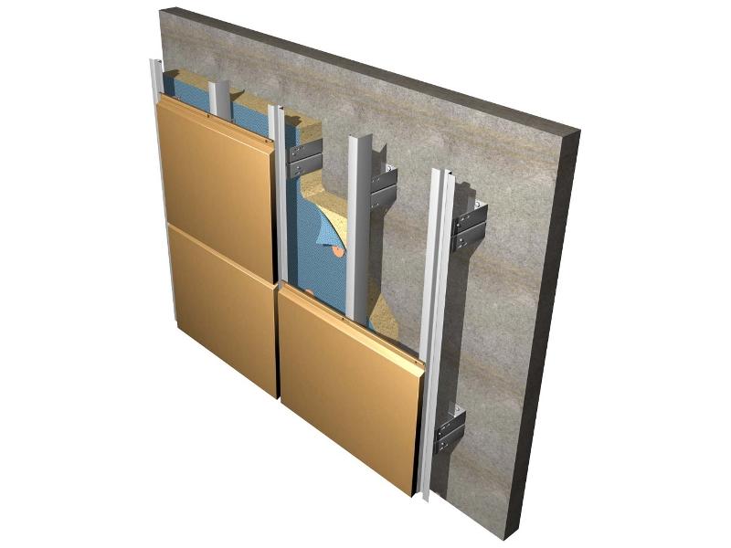 Алюминиевые листы на фасад