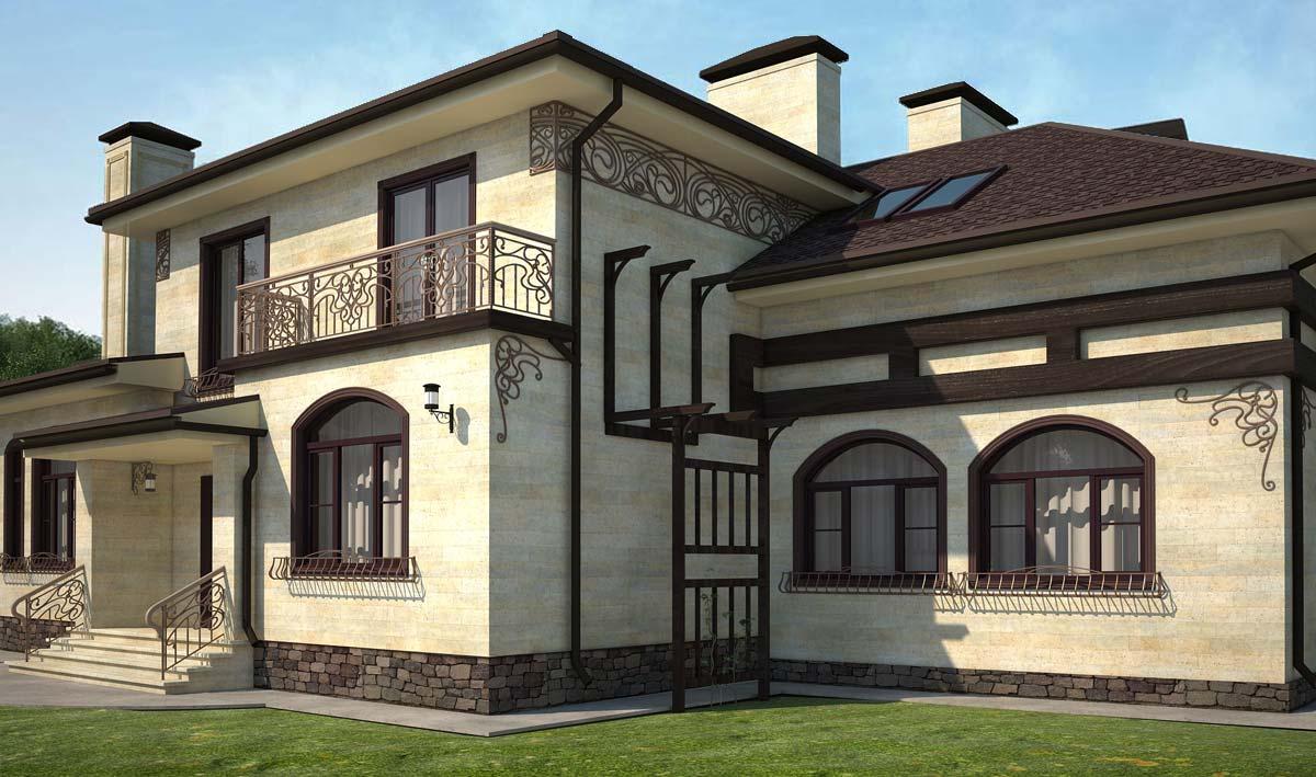 Способы отделка фасадов зданий